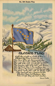 PC Alaska's Flag song words copy