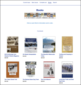 Books page